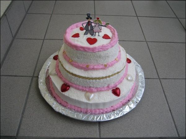 Kleine Hochzeitstorte - Torten - diangel.com - Torten von Diana ...