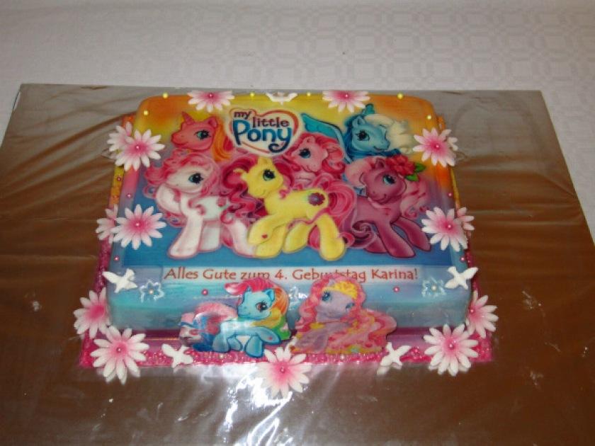pony kuchen