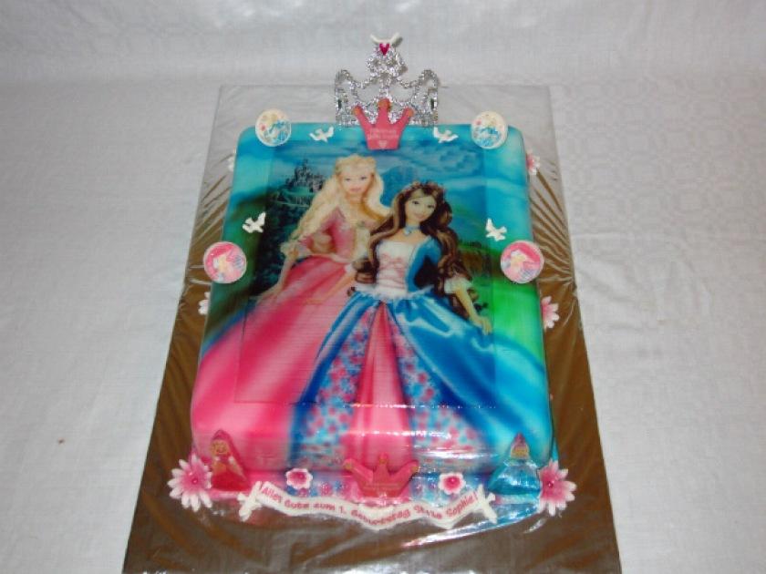Prinzessinnen torte barbie