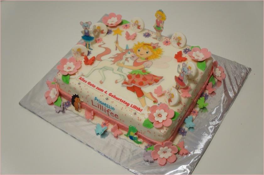 Lillifee Torte & Freunde mit Blumen und Schmetterlinge - Torten ...